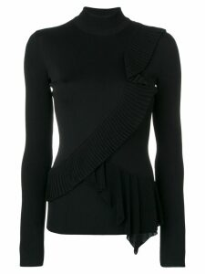 Givenchy knit long sleeves top - Black