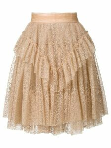 Dsquared2 layered tulle skirt - NEUTRALS
