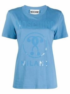 Moschino logo T-shirt - Blue