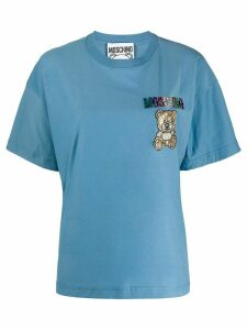 Moschino logo T-shirt - Blue