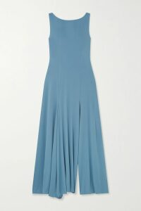 Palm Angels - Printed Cotton-jersey Hoodie - Baby pink