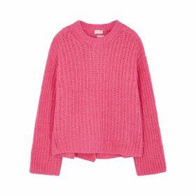 BY MALENE BIRGER Nosema Pink Alpaca-blend Jumper