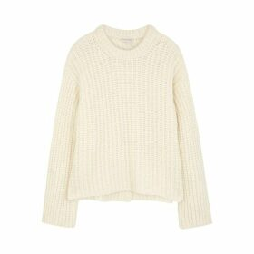 BY MALENE BIRGER Nosema Cream Alpaca-blend Jumper