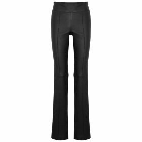 Rag & Bone Grey Mélange Stretch-jersey Top