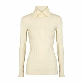 Totême Aviles Ivory Wool-blend Jumper