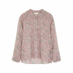 Isabel Marant Étoile Maria Floral-print Cotton Blouse