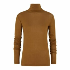 Totême Arenzano Brown Fine-knit Top