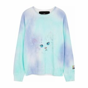 Marc Jacobs Tie-dyed Printed Cotton Sweatshirt