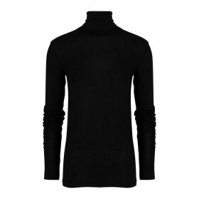 Totême Arenzano Black Fine-knit Top