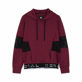 Koral Activewear Stun Panelled Neoprene Sweatshirt