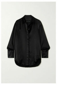 Michael Lo Sordo - Boy Silk-satin Shirt - Black