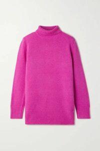 The Row - Sadel Cashmere Turtleneck Sweater - Fuchsia
