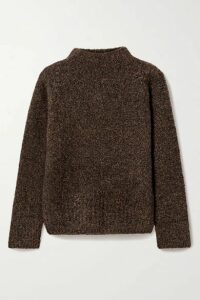 The Row - Cera Mélange Cashmere And Silk-blend Sweater - Brown
