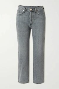 GOLDSIGN - + Net Sustain The Relaxed Straight Mid-rise Straight-leg Jeans - Gray