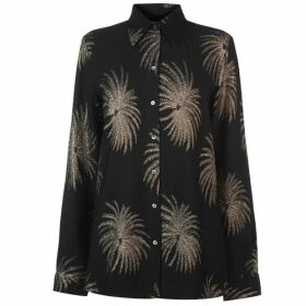 Victoria by Victoria Beckham Palm Tree Shirt