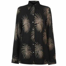 Victoria by Victoria Beckham Palm Tree Shirt