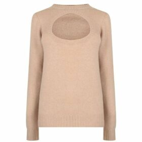 Prada Cut Out Knit Jumper