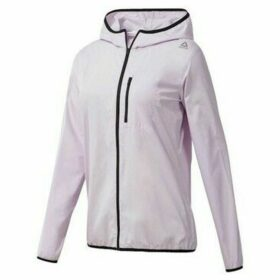 Reebok Sport  Wor Wvn Jacket  women's Sweatshirt in Pink