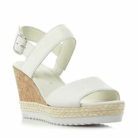 Gabor Wicket cleated sole cork wedge sandals