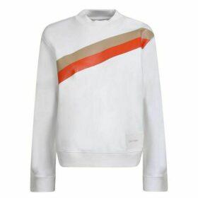 Calvin Klein Stripe Crew Neck Sweatshirt