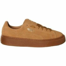 Puma  Suede Platform SD  women's Shoes (Trainers) in Brown
