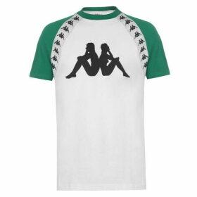 Kappa Banda Bardi T Shirt Mens