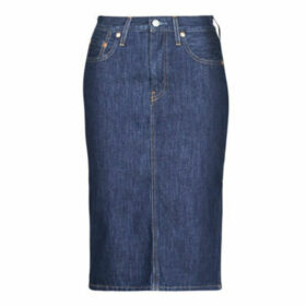 Levis  SLIDE SLIT SKIRT JUNIPER RIDGE  women's Skirt in Blue