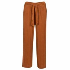 Moony Mood  93114-ROUILLE  women's Trousers in Brown
