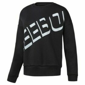 Reebok Sport  Workout Warm Crew  women's Sweatshirt in Black