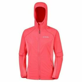 Columbia  Sweet AS Softshell Hoodie  women's Jacket in Red