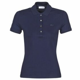 Lacoste  PH5462 SLIM  women's Polo shirt in Blue