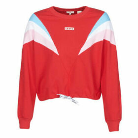 Levis  FLORENCE CREW BABY TAB CB CREW BRILLIANT  women's Sweatshirt in Red
