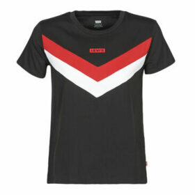 Levis  FLORENCE TEE  women's T shirt in Black