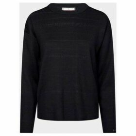 Tommy Hilfiger  WW0WW26538 VELMA KNITWEAR Women RED NAVY  women's Sweater in Red