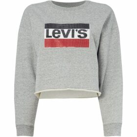 Levis Limited Edition Sequin Logo Crew Sweater