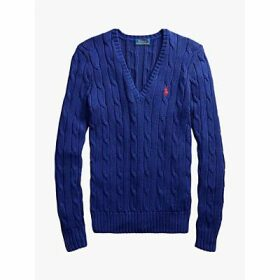 Polo Ralph Lauren Kimberly Classic Cable Knit Cotton Jumper