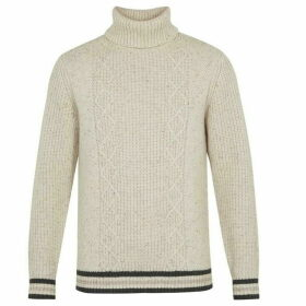 Ted Baker Long Sleeve Chunky Roll Neck Jumper