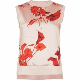 Ted Baker Yssie Sleevless Fantasia Print Jumper