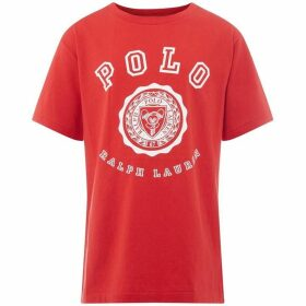 Ralph Lauren Collegic Polo Logo T Shirt