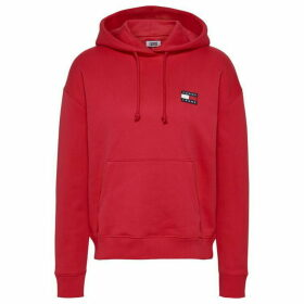 Tommy Jeans Badge Hoodie - DEEP CRIMSON