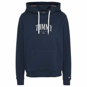 Tommy Jeans Essesntial Logo Hoodie - TWILIGHT NAVY