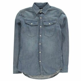 G Star 3301 Long Sleeve Shirt - lt aged