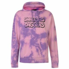 Swallows and Daggers Graffiti Logo Hoodie - Pink/Purple