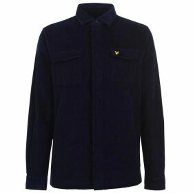 Lyle and Scott Corduroy Over Shirt - Navy Z99