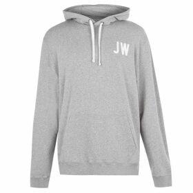 Jack Wills Wildshaw Graphic Hoodie - Lt Ash Mrl