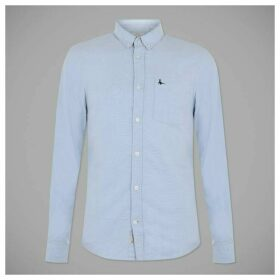 Jack Wills Wadsworth Classic Oxford Shirt - Sky Blue