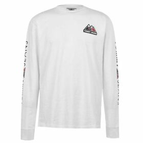 Tommy Jeans Out Mountain Long Sleeve T Shirt - Classic White