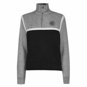 Jack Wills Cleverly Half Zip Pop Over - Grey