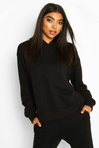 Womens Basic Soft Mix & Match Oversized Hoodie - Black - 14, Black