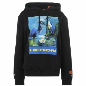 Heron Preston Heron Logo Hooded Sweatshirt